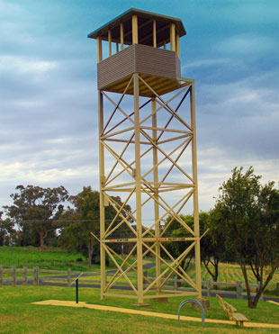 Cowra POW Camp & Guard Tower